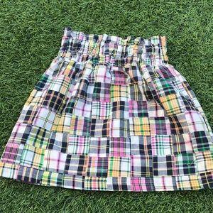 Adorable preppy madras skirt